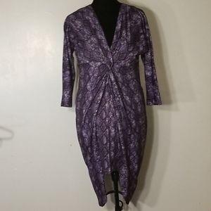 NY&Co Animal Print Dress